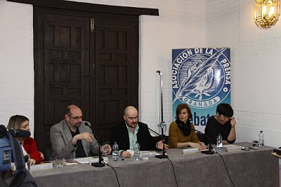 Primeras actividades del Bienio: 17 de Marzo (participación en el Homenaje a Ayala en Granada) y 19 M (II Ciclo Pedagógico del CCP sobre Cultura Clásica y Andaluza, IES Montesinos, Alhama de Granada)