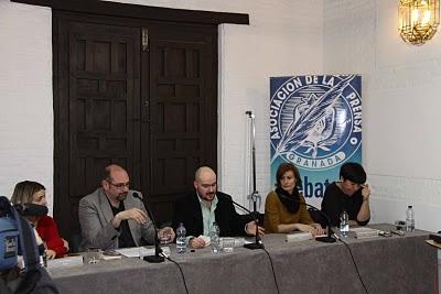 Imagen (1) > Participación del CCP en el Homenaje Colectivo a Ayala: 17 de marzo de 2010 (Fundación Andaluza de la Prensa, Granada)