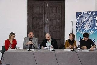 Imagen (2) > Participación del CCP en el Homenaje Colectivo a Ayala: 17 de Marzo de 2010 (Fundación Andaluza de la Prensa, Granada)