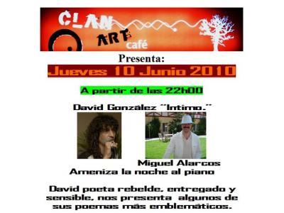 Actuación de nuestro Vicepresidente Tercero y Portavoz, mañana en el Clan-Art